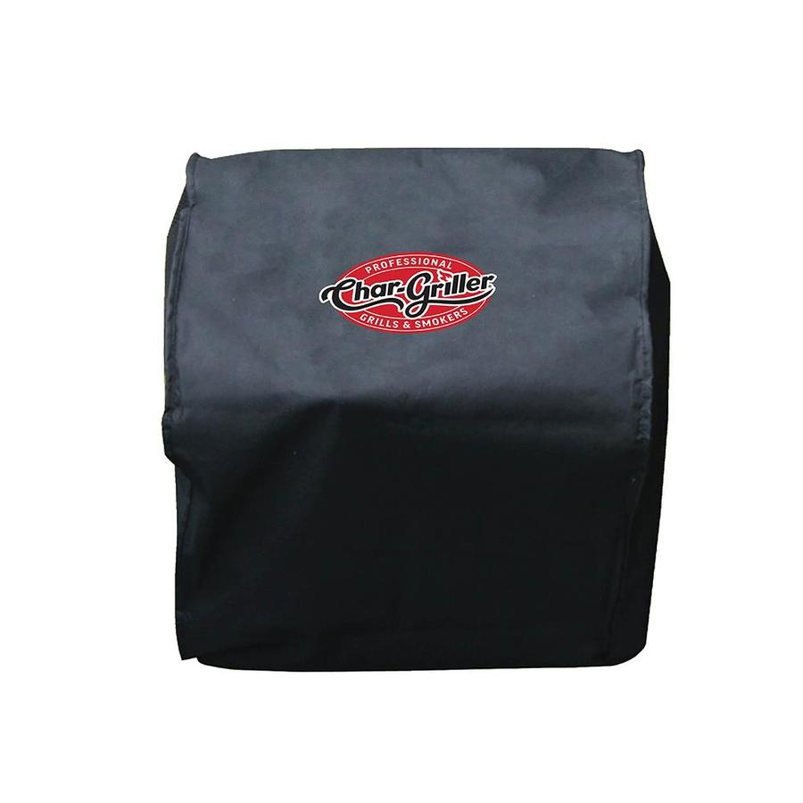 Char-Griller Table Top Grill Cover 21-in x 18.5-in Black Polyester Charcoal Grill Cover Fits Models 22424