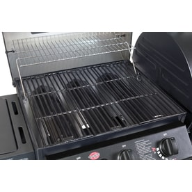 Shop Char Griller Duo Black Dual Function Combo Grill At
