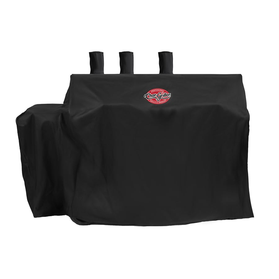 Char-Griller 63-in x 50-in Polyester Gas Grill Cover