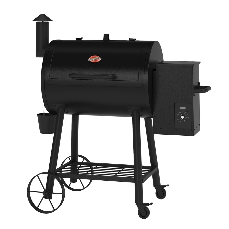 Char-Griller Wood Fire Pro 580-sq in Pellet Grill