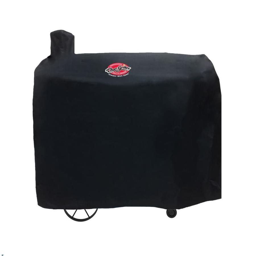 Char-Griller 50-in x 51-in Black Polyester Fits Most Cover
