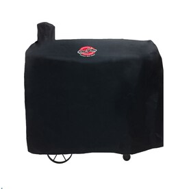 Char-Griller Polyester Pellet Grill Cover, Black, 9155