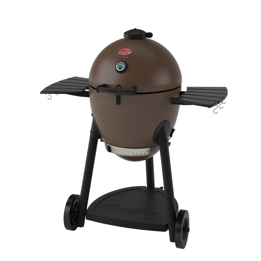 Char-Griller AKORN 20-in Brown Kamado Charcoal Grill