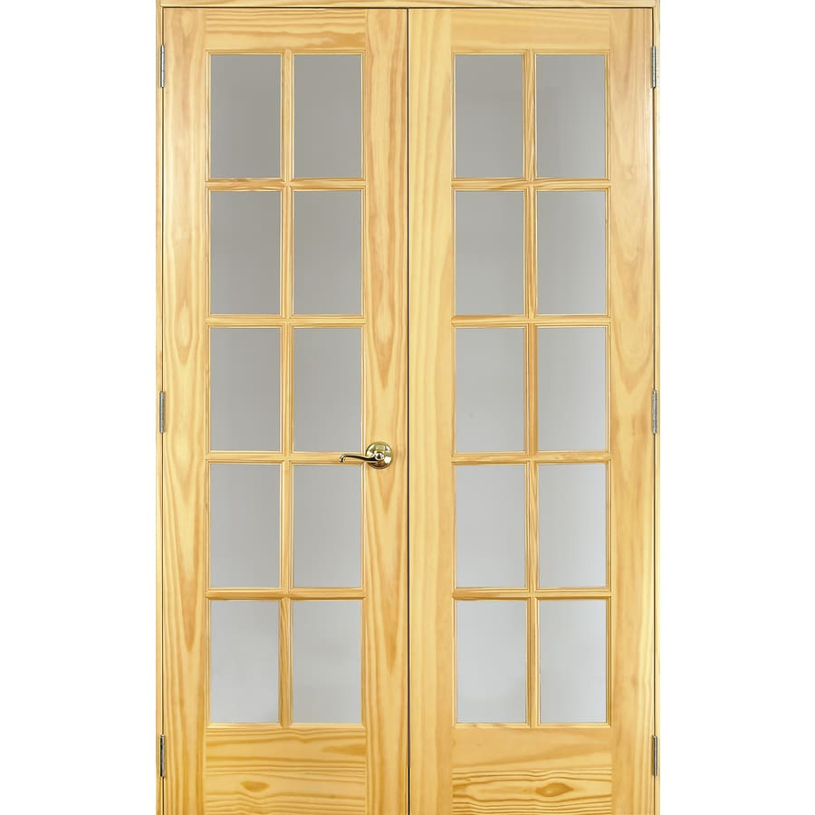 Exceptional ReliaBilt Solid Core 10 Lite French Interior Door (Actual: 24 In X