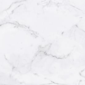 Viena Bianco Calacata White 12-in x 12-in Glazed Ceramic Marble Look Floor and Wall Tile