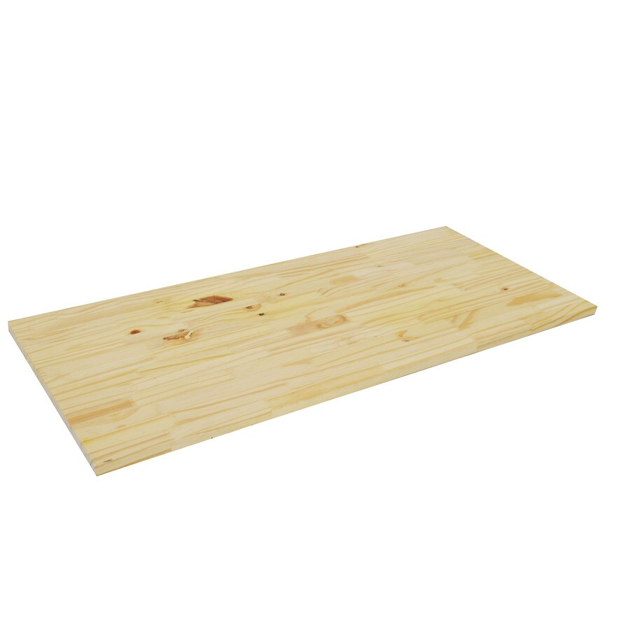 (Common: 1-in x 16-in x 4-ft; Actual: 0.75-in x 15.25-in x 4-ft) Edge Glued Finger Joint Pine Board