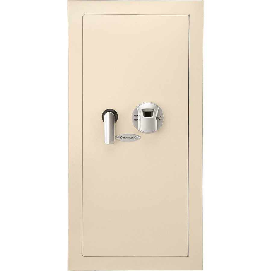 Barska 0.82-cu ft Biometric Commercial/Residential Wall Safe