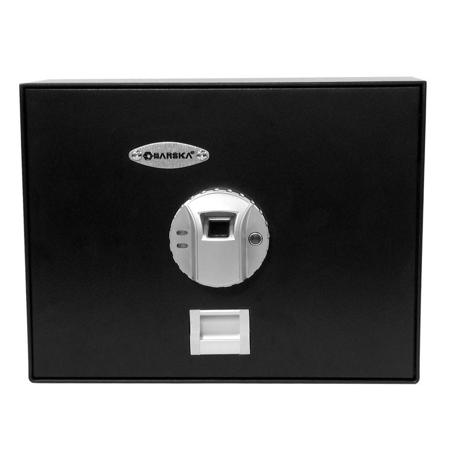 Barska 0.23-cu ft Biometric Drawer Safe Safe