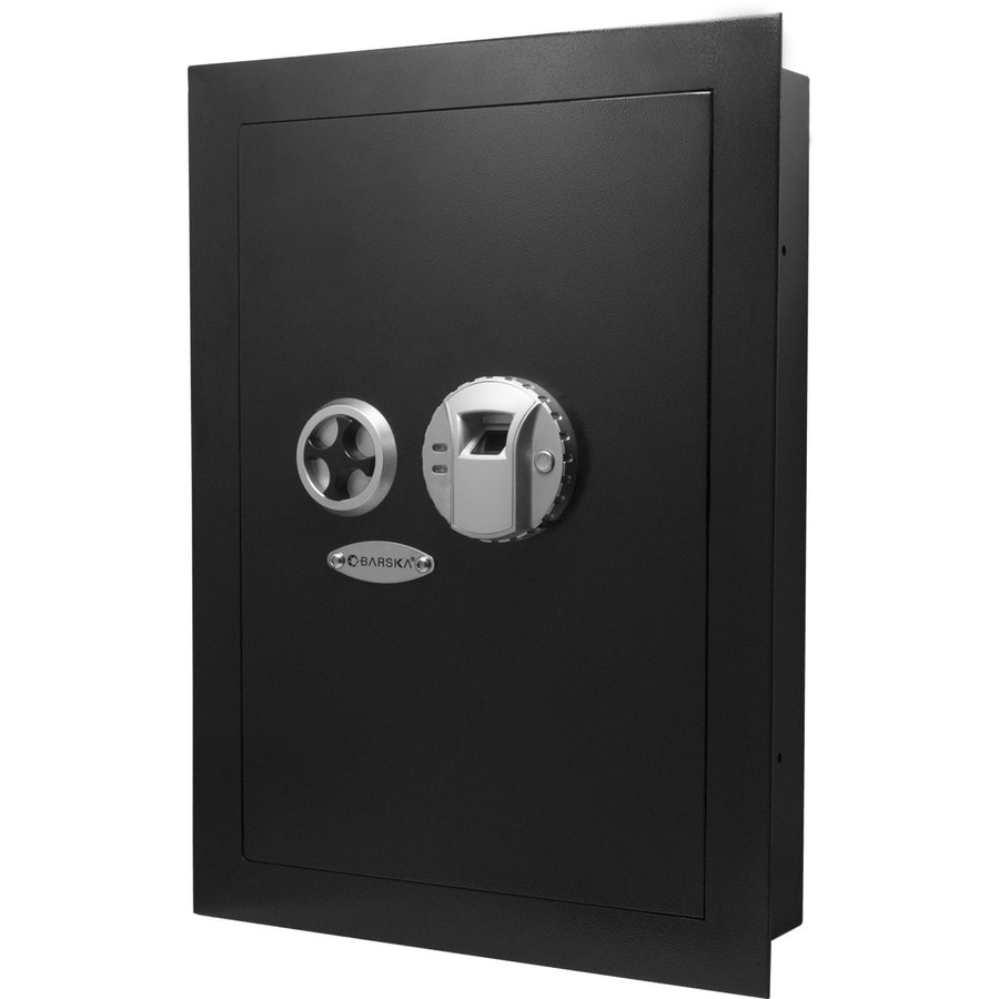 Barska 0.52-cu ft Biometric Commercial/Residential Wall Safe
