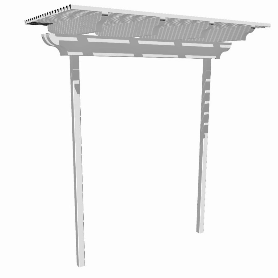 Americana Building Products White Garden Arbor