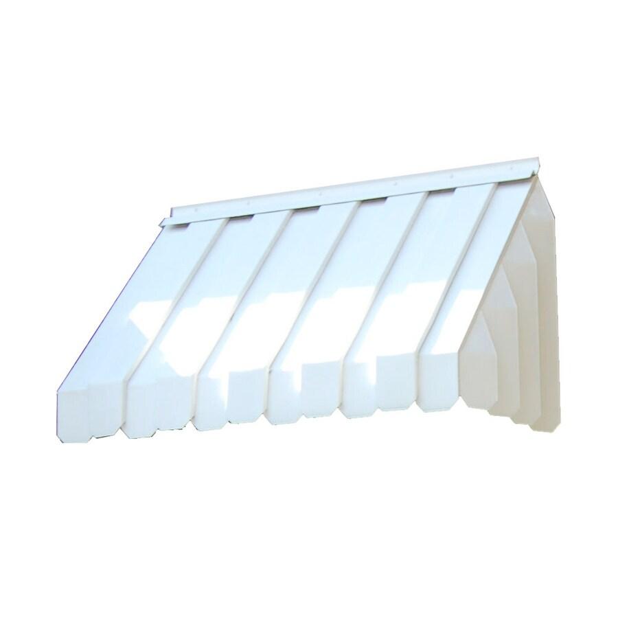 Americana Building Products 120-in W x 360-in L x 112.5-in H Adobe Aluminum Attached Pergola