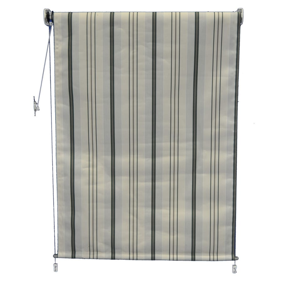 Americana Building Products Forest Green Transitional Room Darkening Woven Acrylic Exterior Shade (Common 48-in; Actual: 48-in x 48-in)