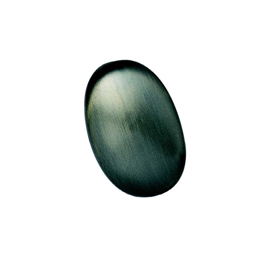 Michael Aram 1-3/4-in Oil-Rubbed Bronze Pebble Oval Cabinet Knob