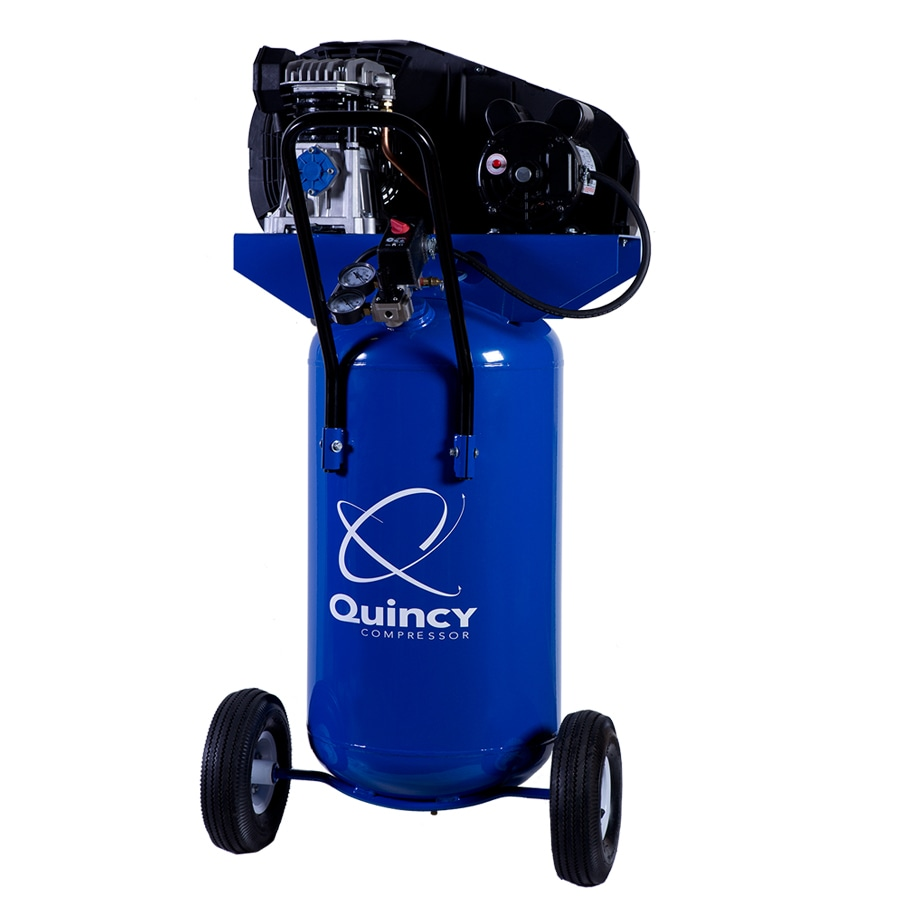 Quincy Compressor 2-HP 26-Gallon 135-PSI 115-Volt Vertical Portable Electric Air Compressor