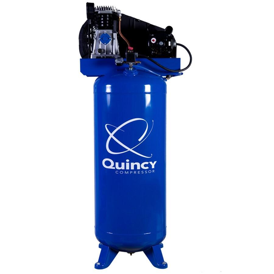 Quincy Compressor 3.5-HP 60-Gallon 135-PSI 230-Volt Vertical Stationary Electric Air Compressor