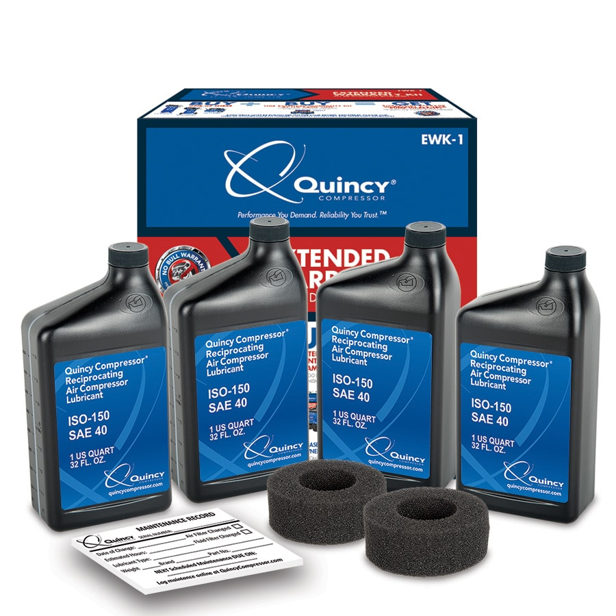 Quincy Compressor Extended Warranty Kit for Quincy Compressor