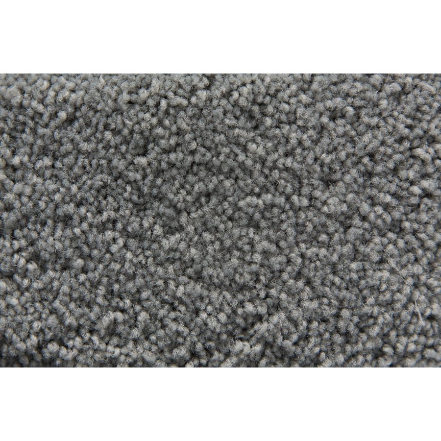 STAINMASTER Active Family Savoy Sterling Plush Interior Carpet