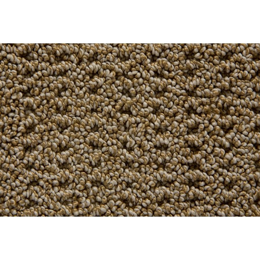 STAINMASTER TruSoft Merriment Wheatland Pattern Interior Carpet