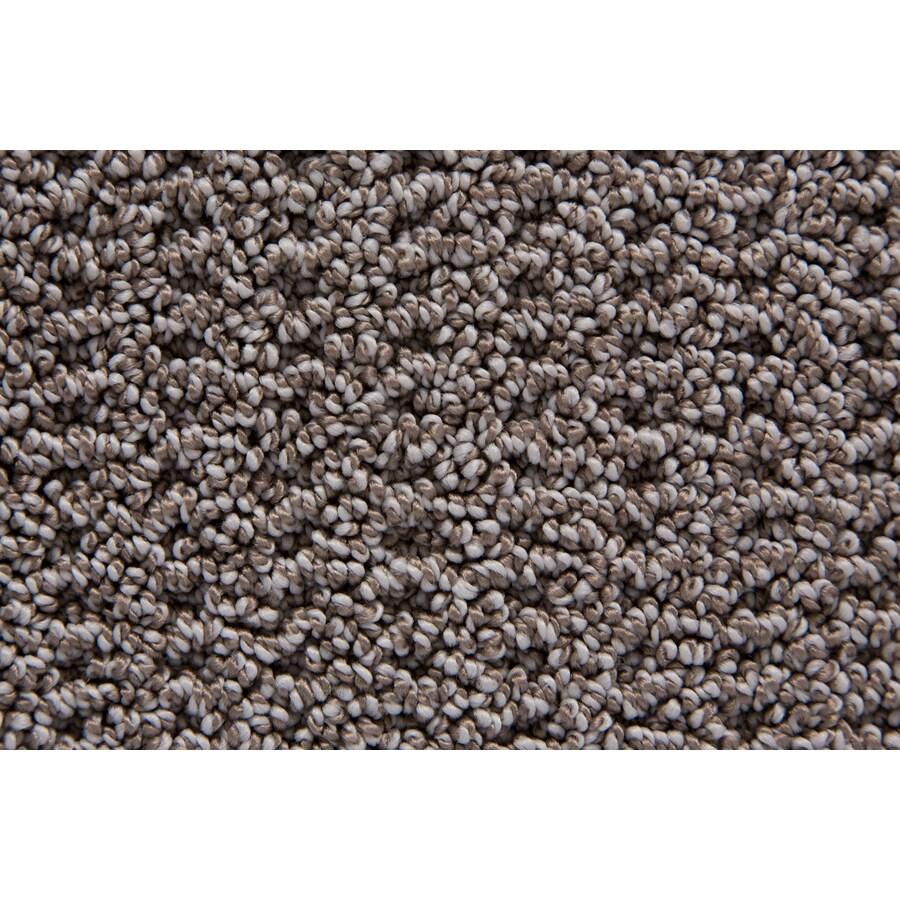 STAINMASTER TruSoft Merriment Silvertaupe Pattern Interior Carpet