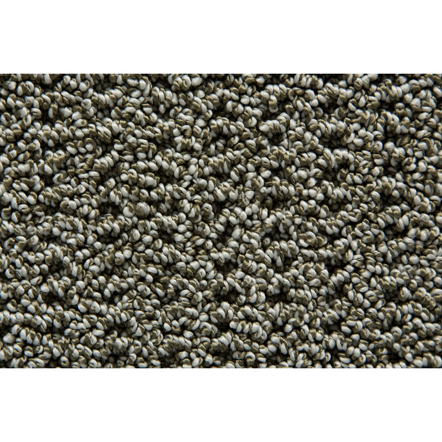STAINMASTER TruSoft Merriment Shamrock Pattern Interior Carpet