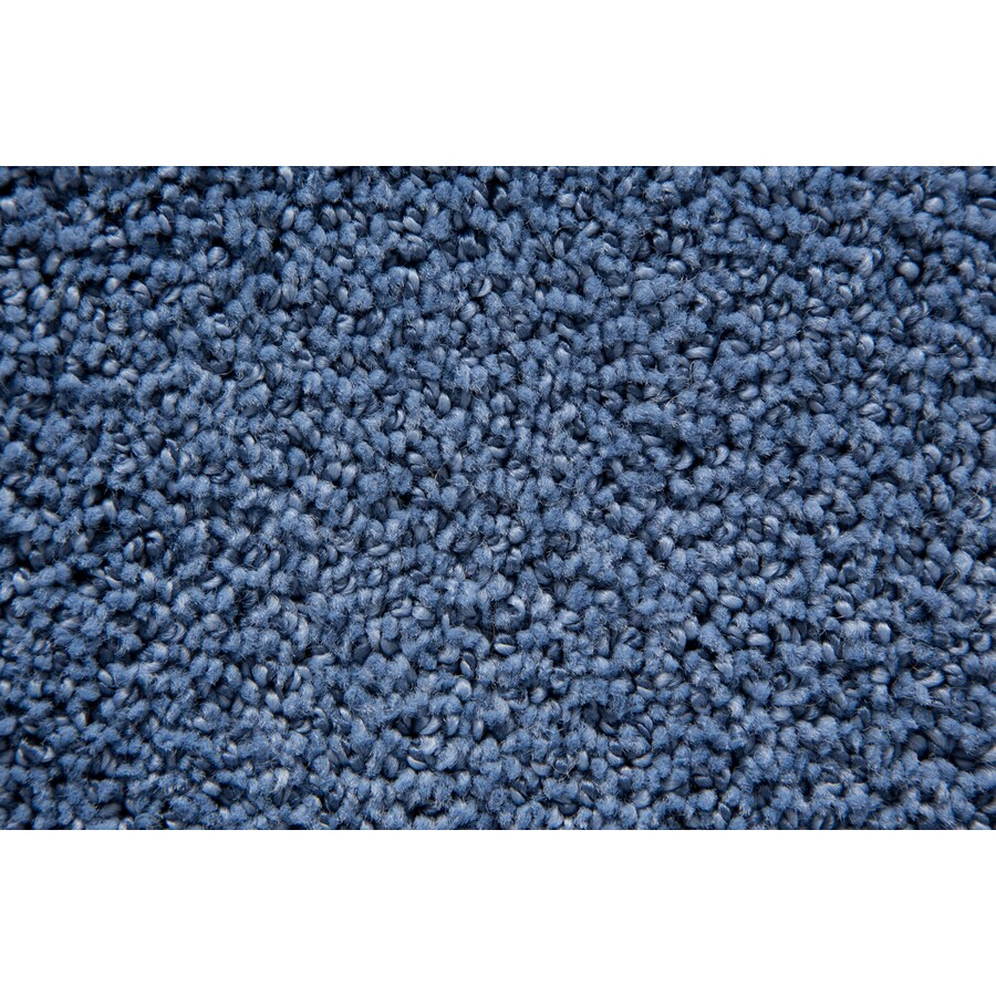 STAINMASTER TruSoft Mysterious Ocean Pattern Indoor Carpet