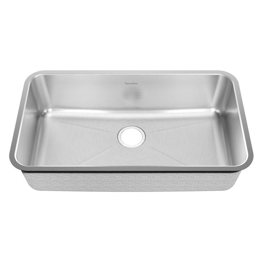 American Standard Prevoir 25.25-in x 38-in Radiant Silk Single-Basin Undermount Residential Kitchen Sink