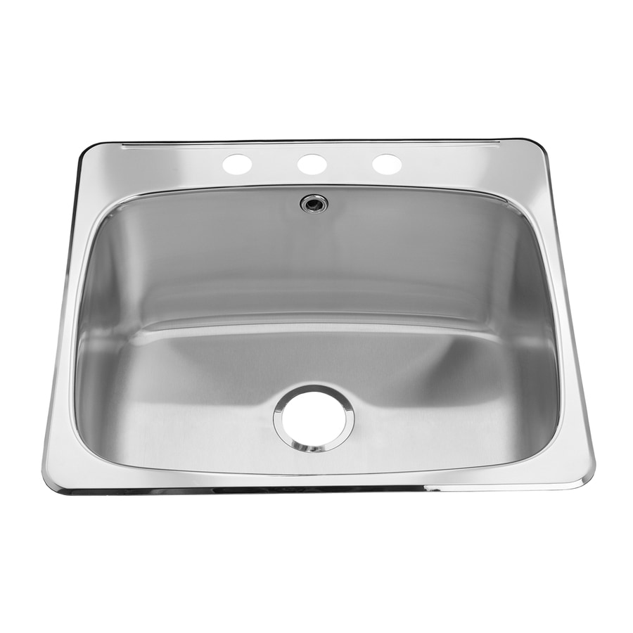 Shop American Standard Silk Drop-In Stainless Steel Utility Tub at ...