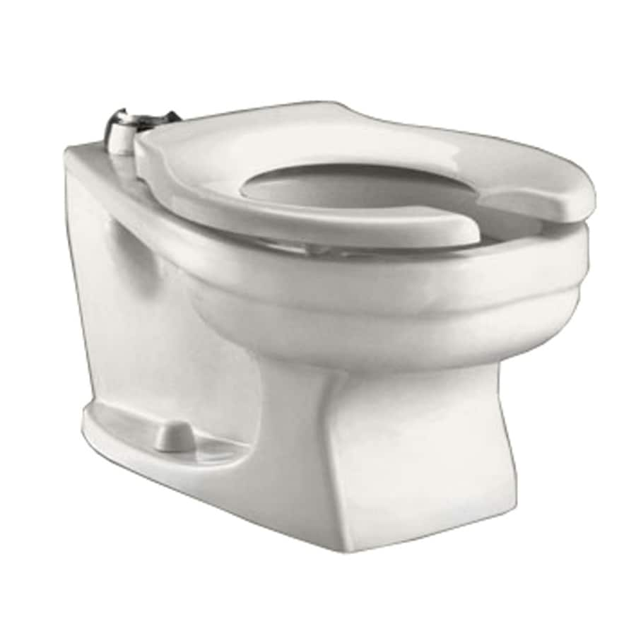 American Standard Baby Devoro White Round Children's Height Toilet Bowl