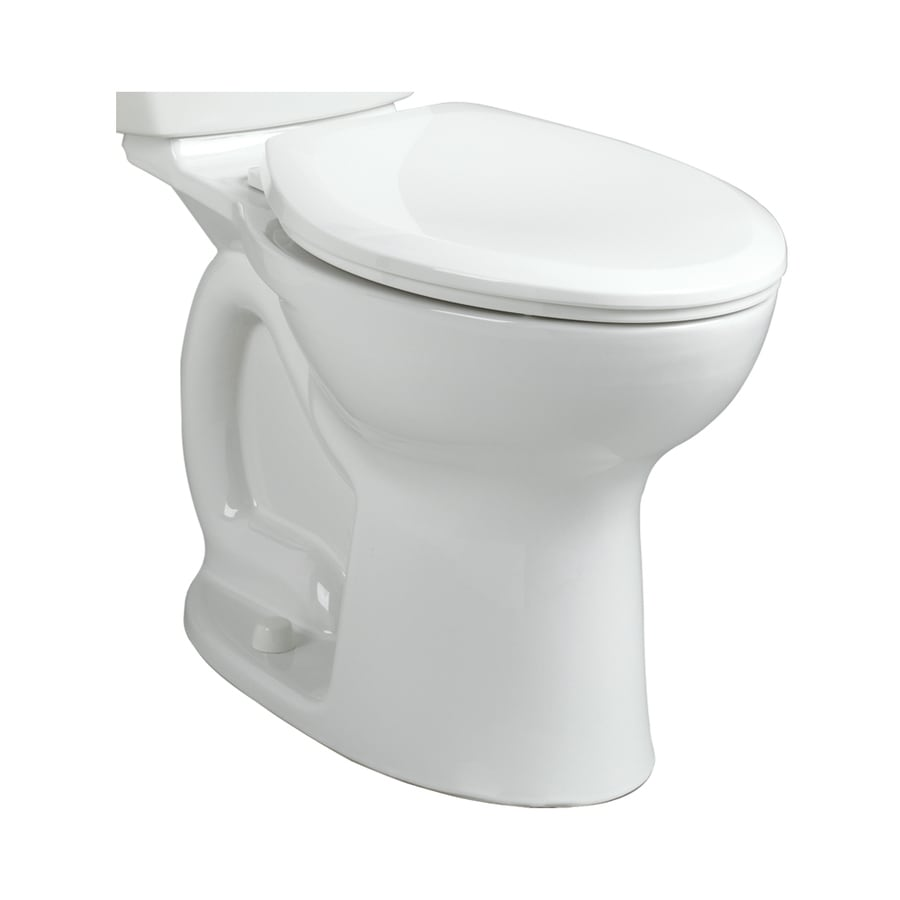 Shop American Standard Cadet Chair Height White Toilet Bowl at Lowes.com