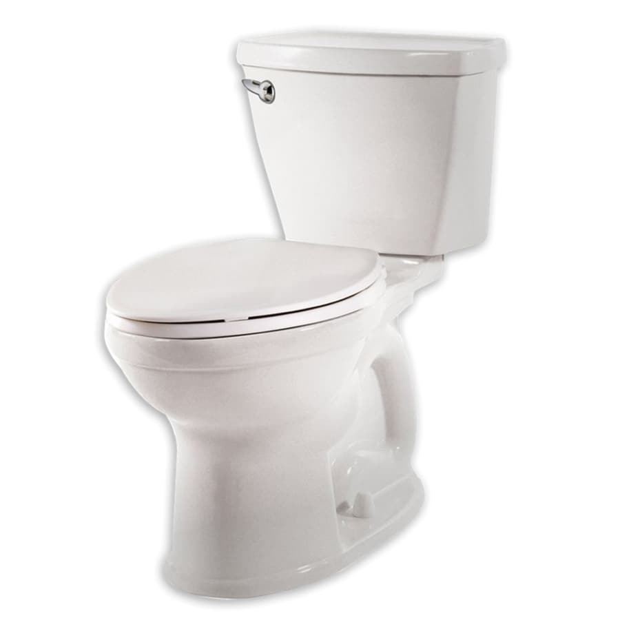 American Standard Champion 4 1.28-GPF (4.85-LPF) White Elongated Chair Height 2-piece Toilet