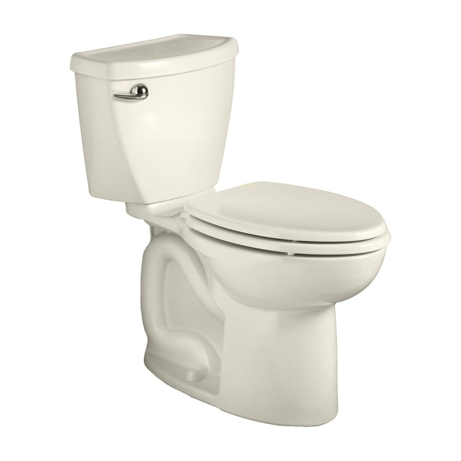 American Standard Cadet 3 1.28-GPF (4.85-LPF) Linen Elongated Chair Height 2-piece Toilet