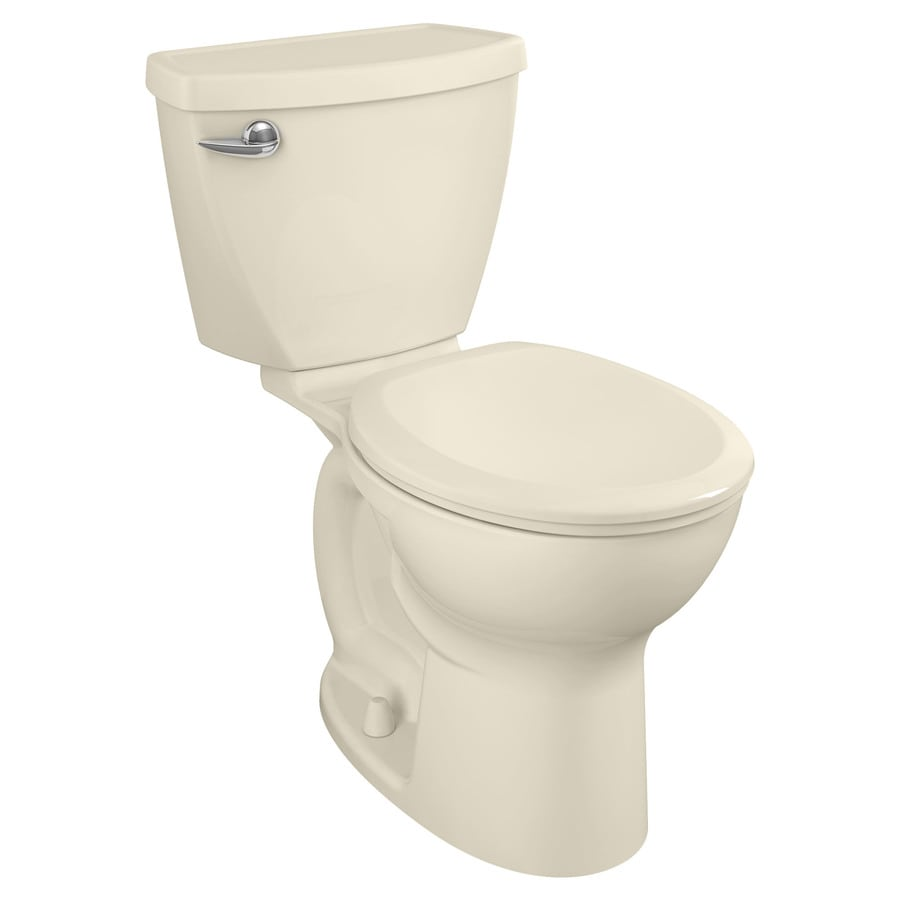 American Standard Cadet 3 Bone 1.28-GPF (4.85-LPF) 12 Rough-In WaterSense Round 2-Piece Chair Height Toilet