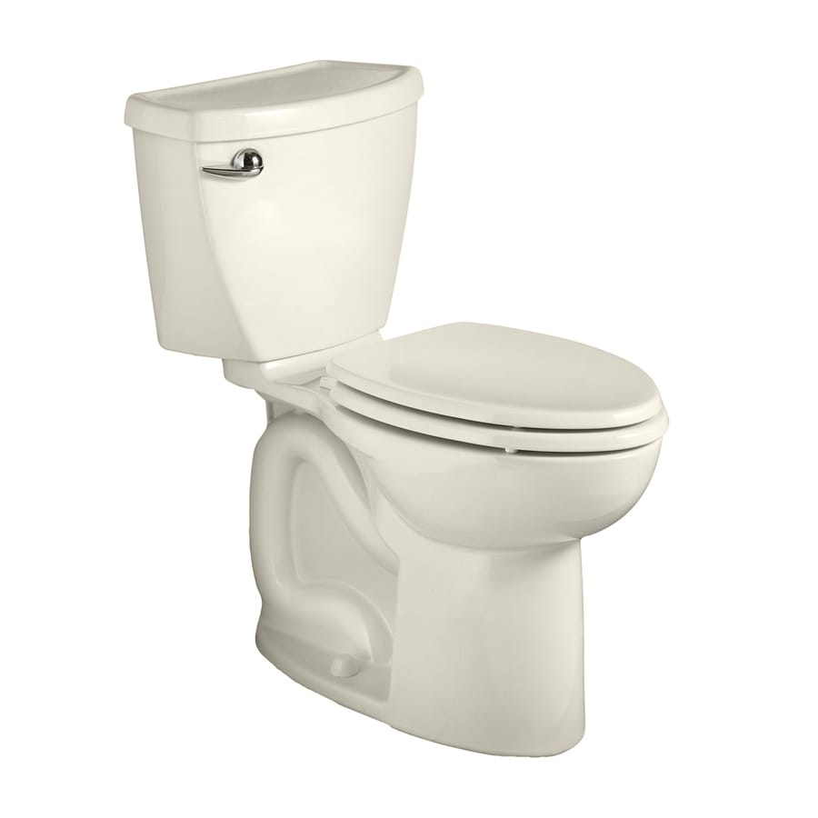 American Standard Cadet 3 1.28-GPF (4.85-LPF) Linen WaterSense Round Chair Height 2-Piece Toilet
