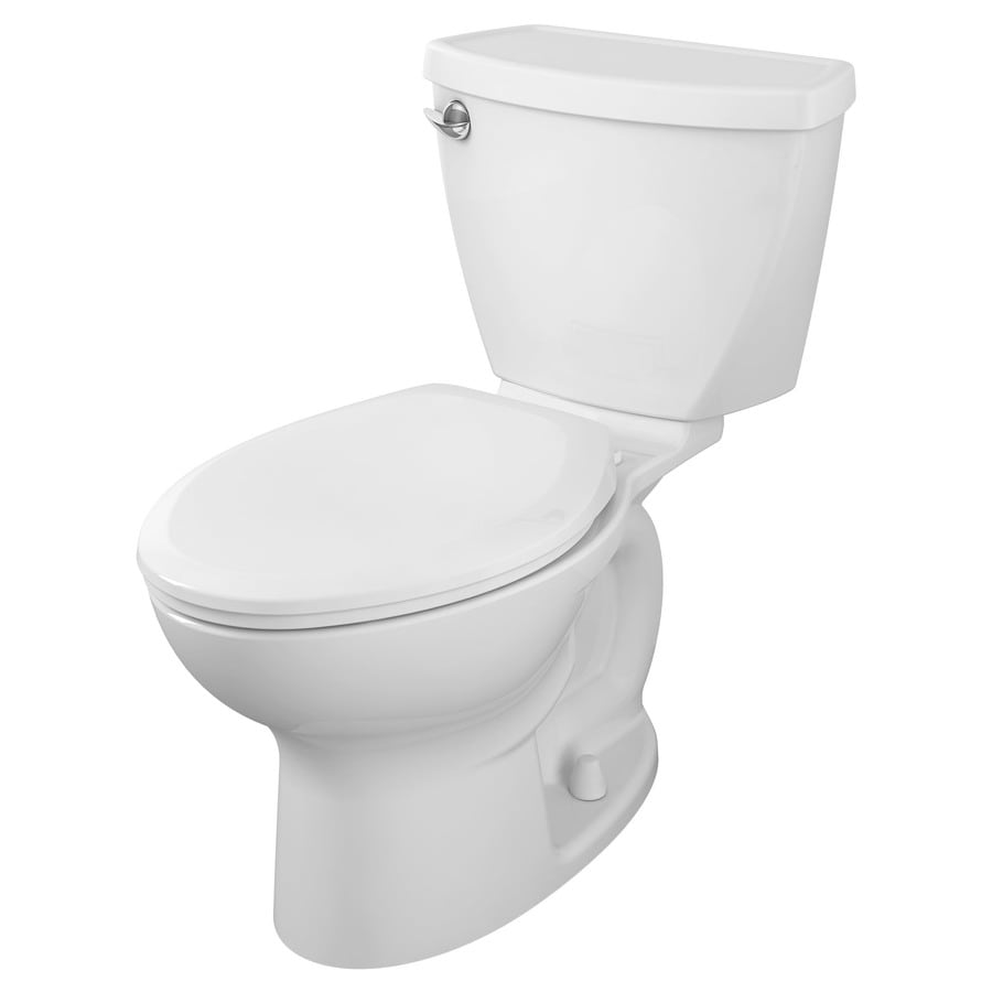 American Standard Cadet 3 1.28-GPF (4.85-LPF) White WaterSense Elongated Standard Height 2-Piece Toilet