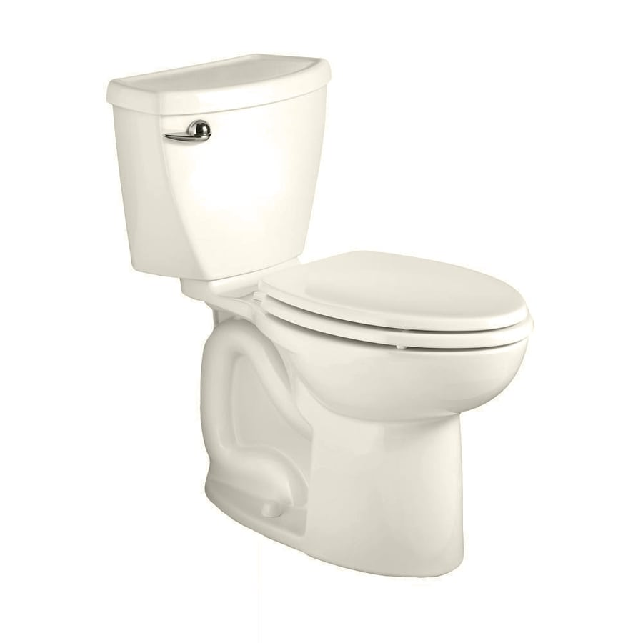 American Standard Cadet 3 Linen WaterSense Labeled  Elongated Standard Height 2-piece Toilet 12-in Rough-In Size