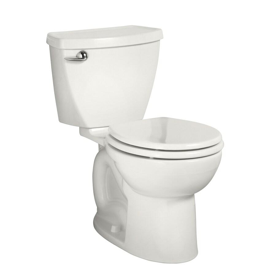 American Standard Cadet 3 1.6-GPF (6.06-LPF) White Round 2-piece Toilet