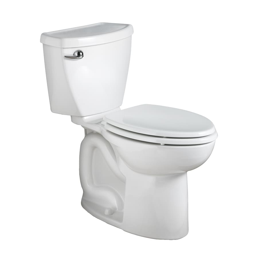 American Standard Cadet 3 White 1.6-GPF (6.06-LPF) 10 Rough-In Elongated 2-Piece Chair Height Toilet