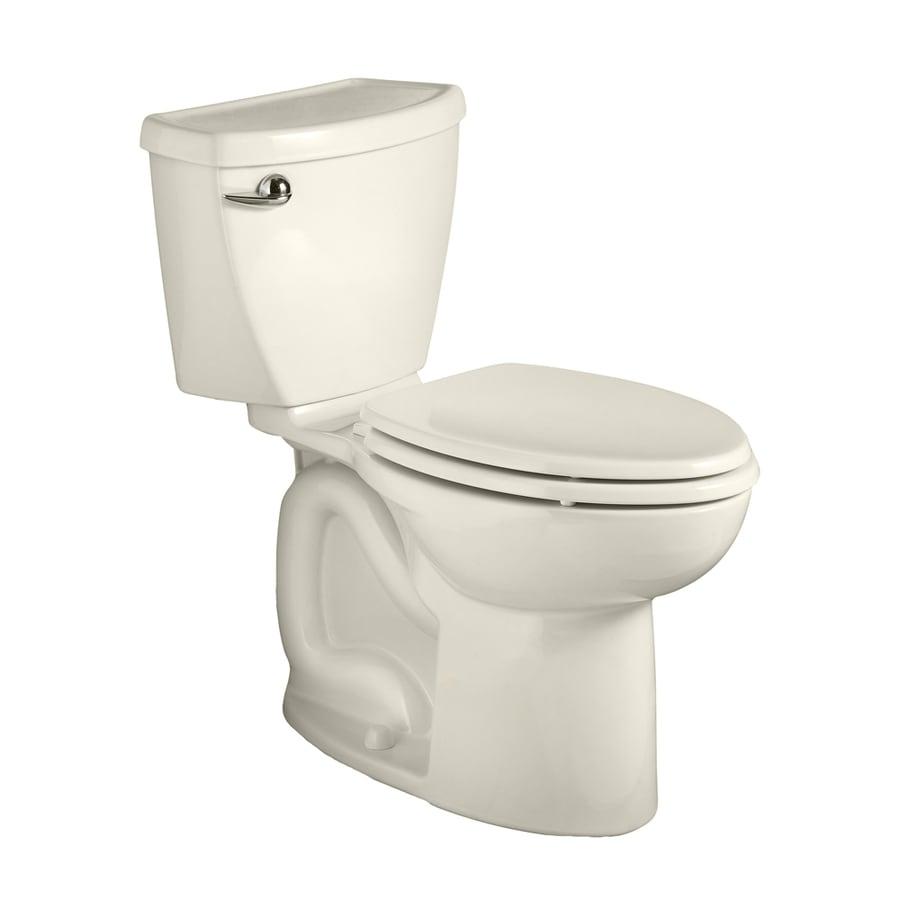 American Standard Cadet 3 1.6-GPF Linen Elongated Chair Height 2-Piece Toilet