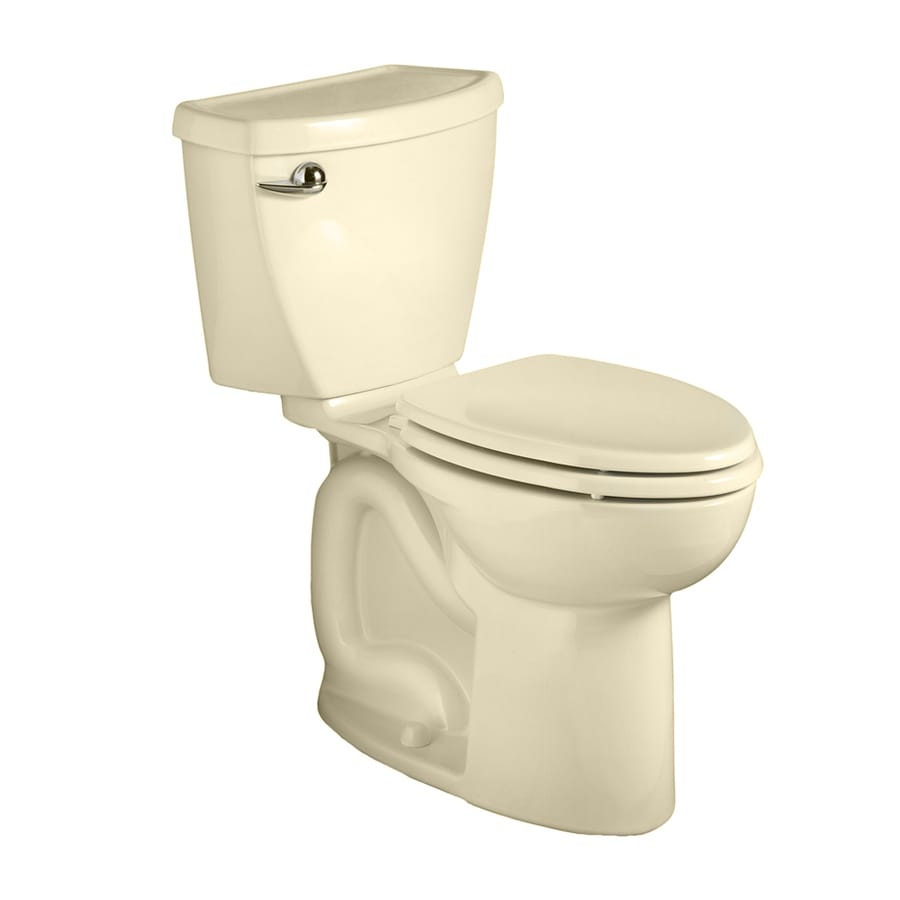 American Standard Cadet 3 Bone 1.28-GPF (4.85-LPF) 10 Rough-In WaterSense Round 2-Piece Chair Height Toilet