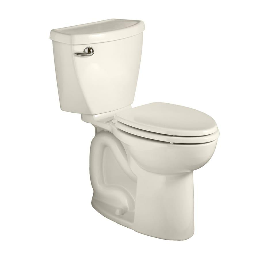 American Standard Cadet 3 1.28-GPF (4.85-LPF) Linen Round Chair Height 2-piece Toilet