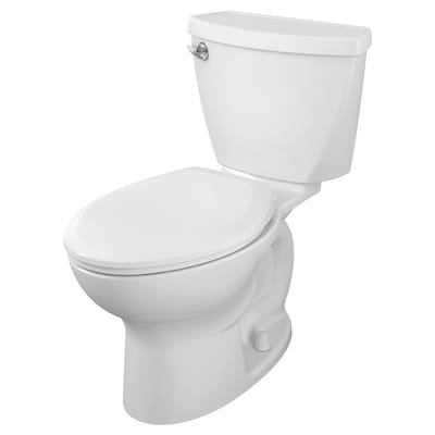 Strange Cadet 3 White Watersense Elongated Standard Height 2 Piece Toilet 10 In Rough In Size Squirreltailoven Fun Painted Chair Ideas Images Squirreltailovenorg