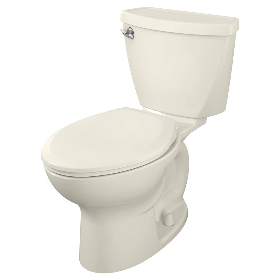 American Standard Cadet 3 1.28-GPF (4.85-LPF) Linen WaterSense Elongated Standard Height 2-Piece Toilet