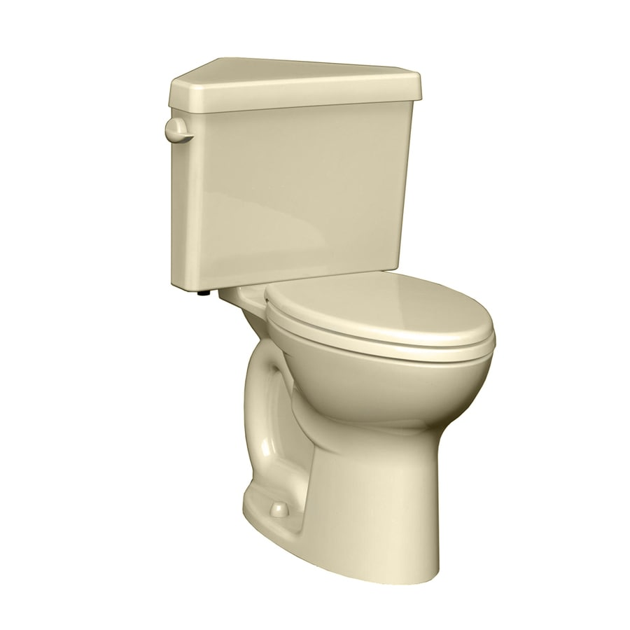 American Standard Cadet 3 Bone Round Chair Height 2 Piece Toilet 12 In Rough