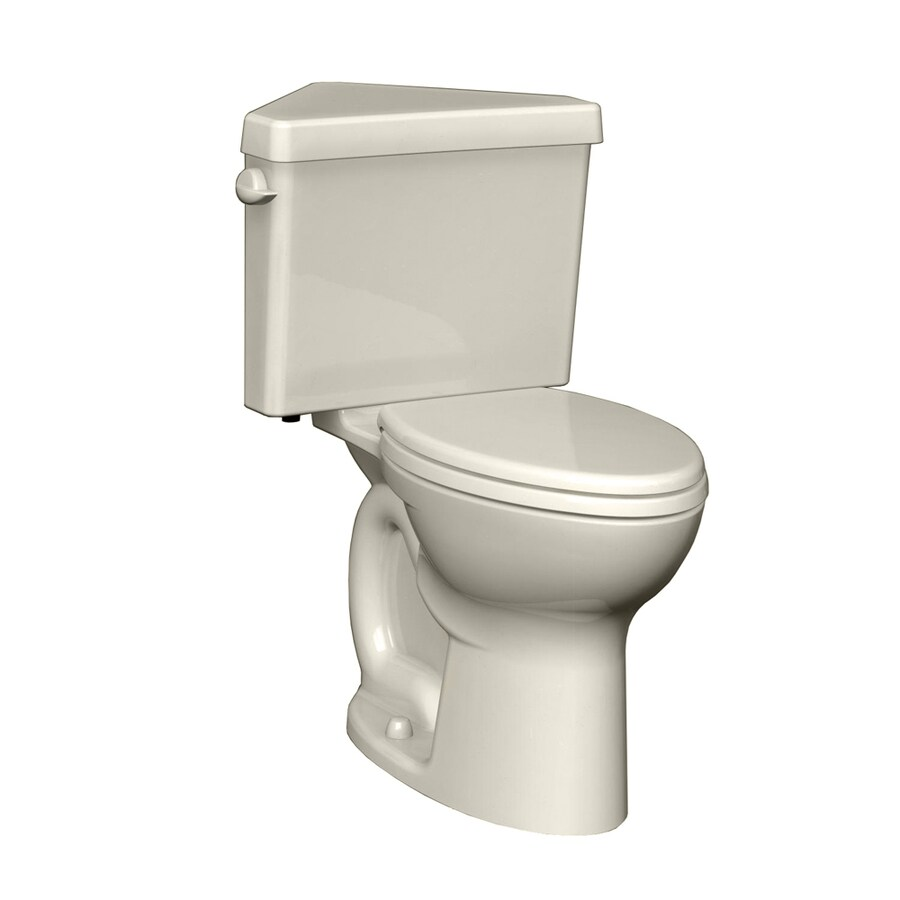 American Standard Cadet 3 1.6-GPF (6.06-LPF) Linen Round Chair Height 2-piece Toilet