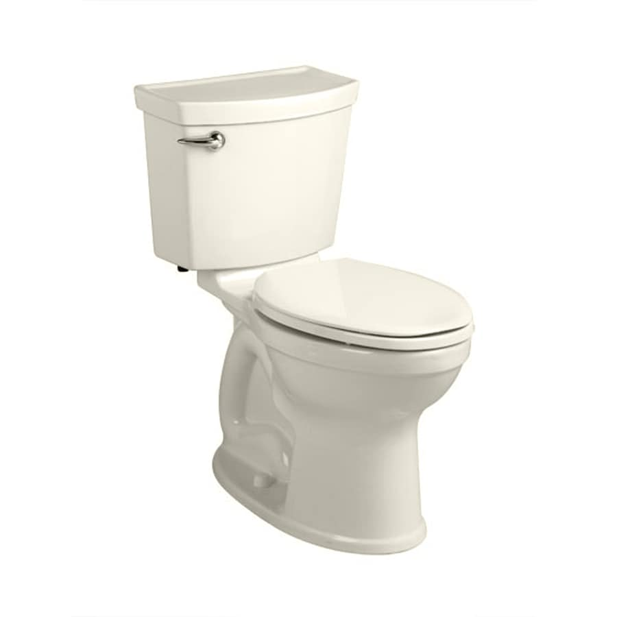 American Standard Champion 4 1.28-GPF (4.85-LPF) Linen Elongated Chair Height 2-piece Toilet