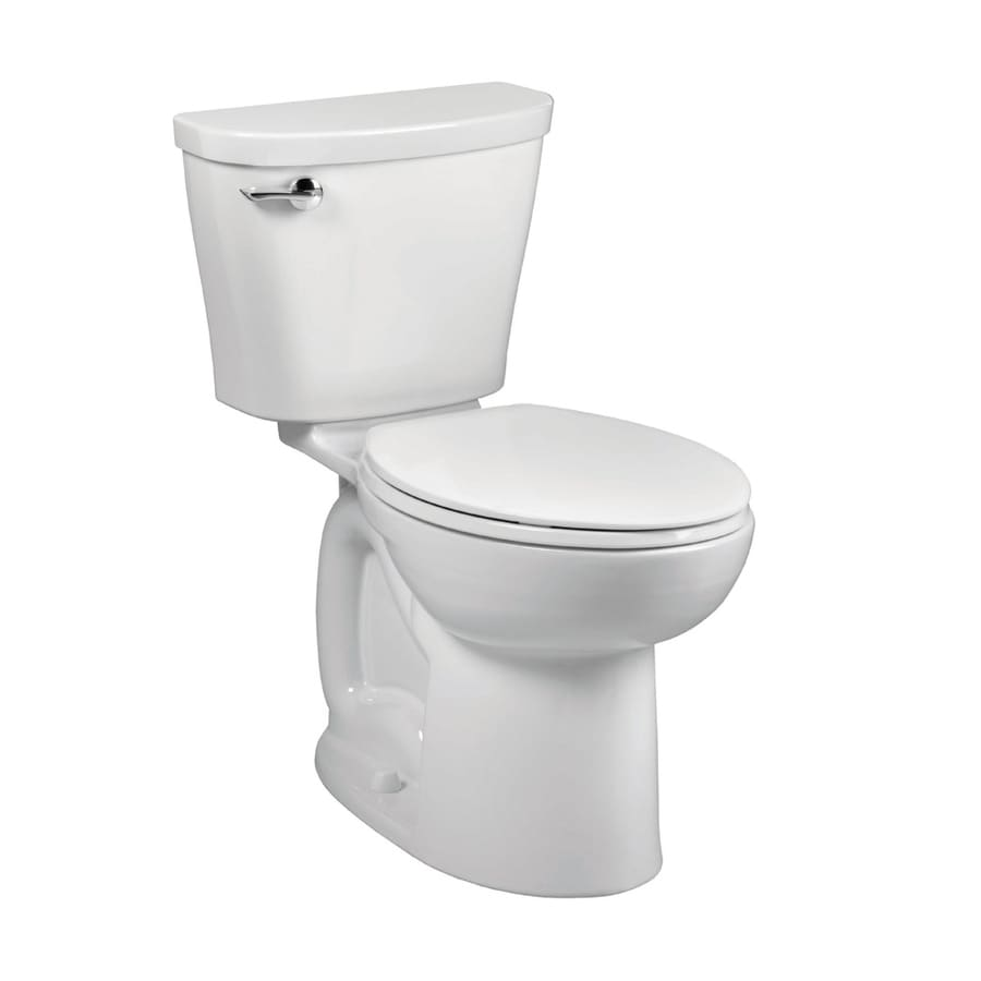 American Standard Saver White WaterSense Labeled  Elongated Chair Height 2-piece Toilet 10-in Rough-In Size
