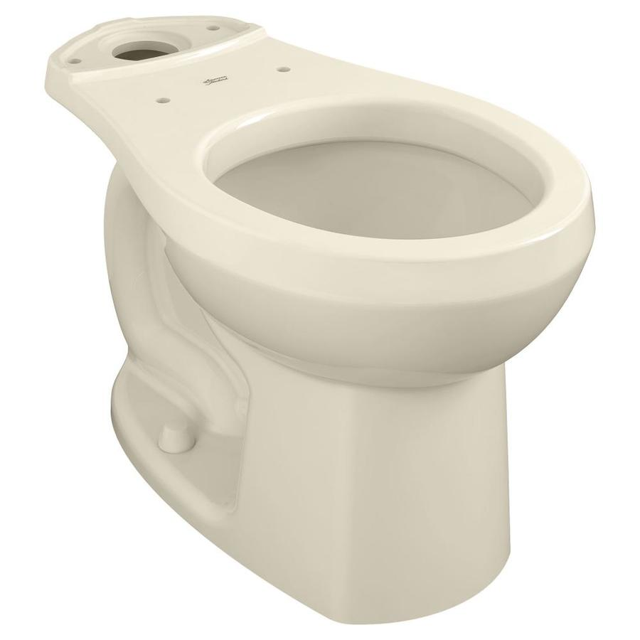 American Standard Colony Bone Round Height Toilet Bowl