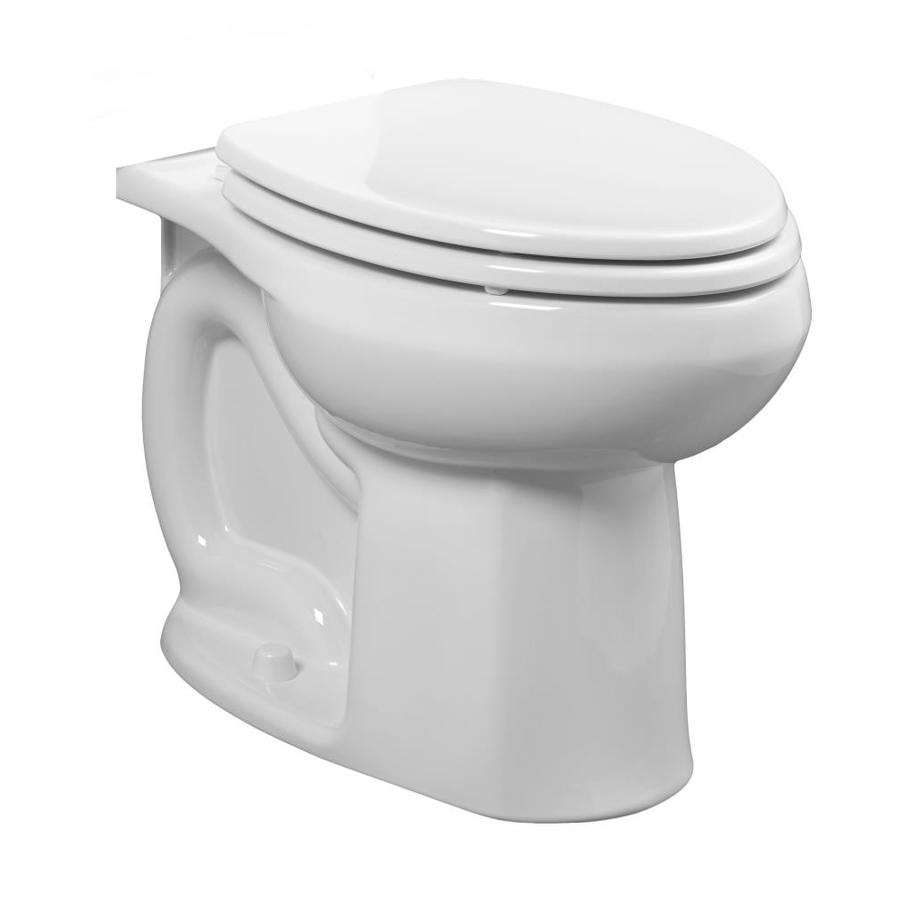 American Standard Colony Chair Height White 12-in Rough-In Elongated Toilet Bowl