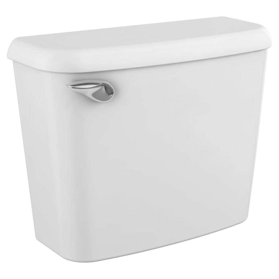 American Standard Colony White 1.6-GPF (6.06-LPF) 10-in Rough-In Single-Flush Toilet Tank