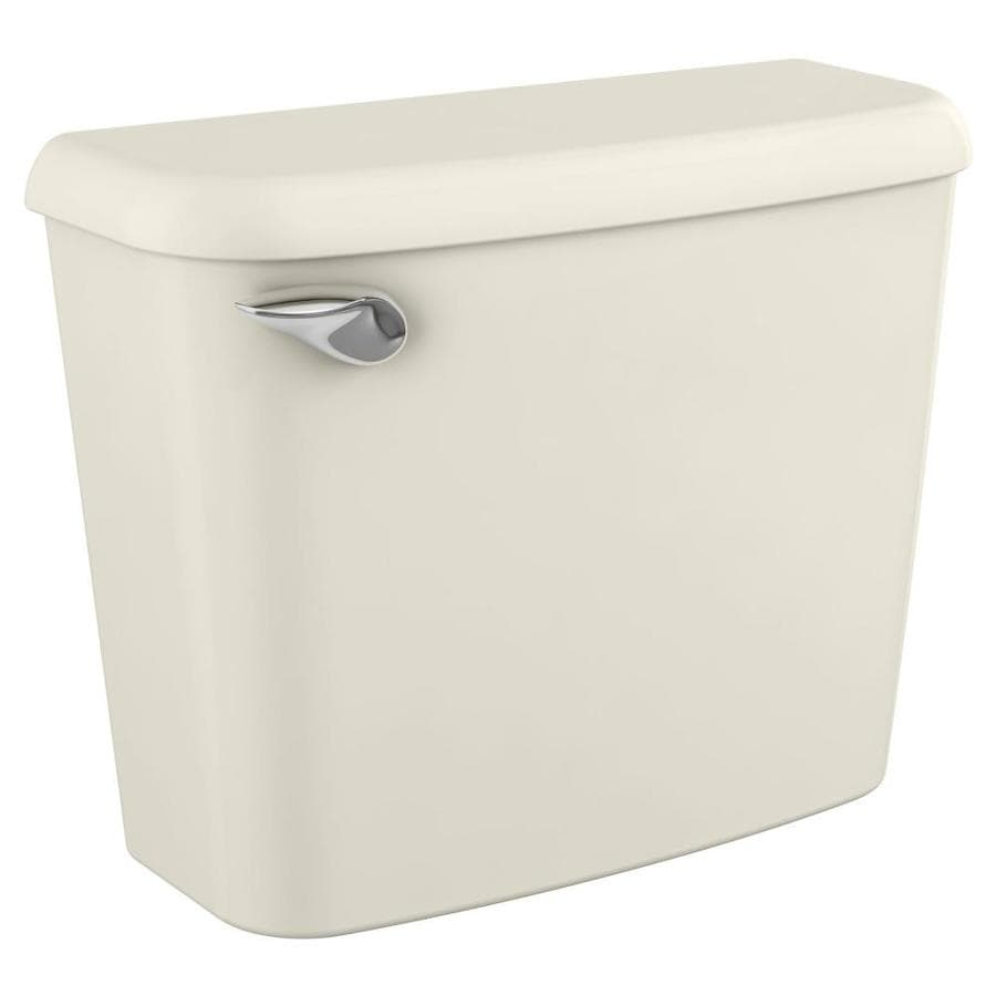 American Standard Colony Linen 1.28-GPF (4.85-LPF) 10-in Rough-In Single-Flush High-Efficiency Toilet Tank